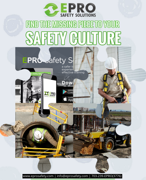 Pin by EPRO, LLC. on InstructorLed Safety Training (With