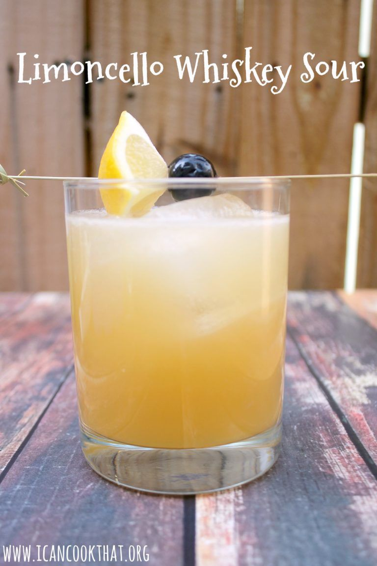 limoncello whiskey sour recipe adult drinks. Black Bedroom Furniture Sets. Home Design Ideas