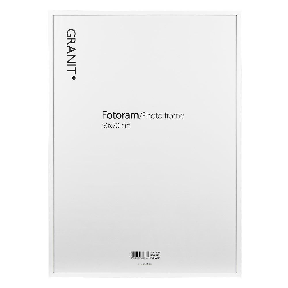 Bilderrahmen 50x70 cm Weiß | Granit.com | \'büro\' | Pinterest | Büros