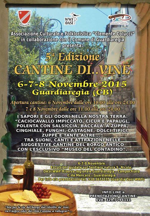 Cantine Di...Vine a Guardiaregia: 3 giorni all'insegna di sapori e odori del #Molise -> http://goo.gl/69ZgF5 #Campobasso #mangiareinmolise