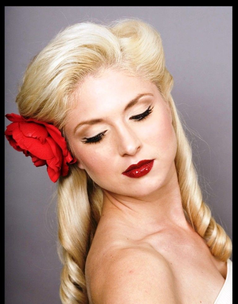 Rockabilly Hairstyles for Women Ideas | Style | Pinterest ...