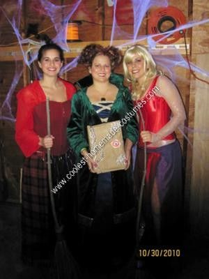 homemade hocus pocus group halloween costume ideas it took quite a bit of studying of the movie for our homemade hocus pocus group halloween costume ideas