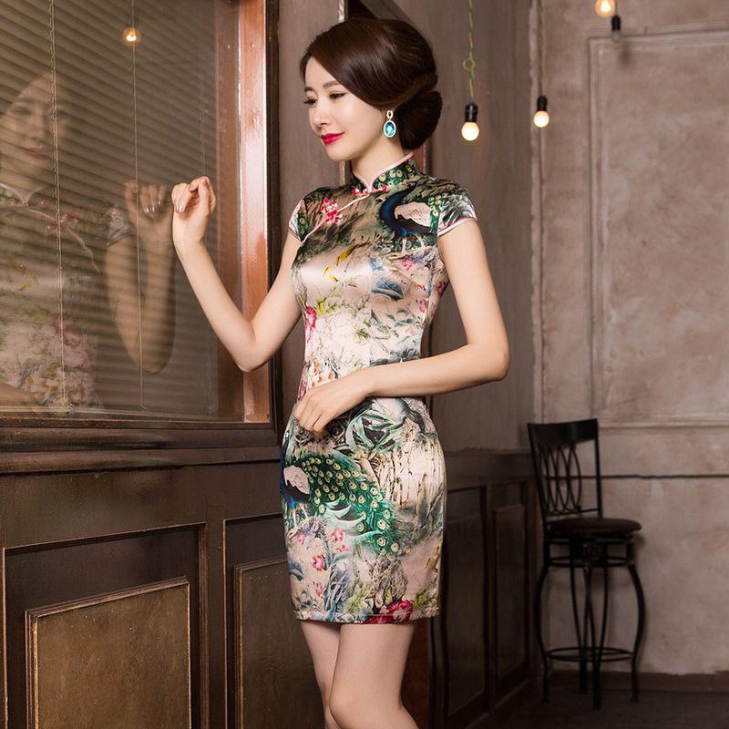 2017 Chinese Dress Abendkleider Qipao Chinese Wedding Dress The ...