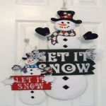 2013 Let it Snow Sign 6x10