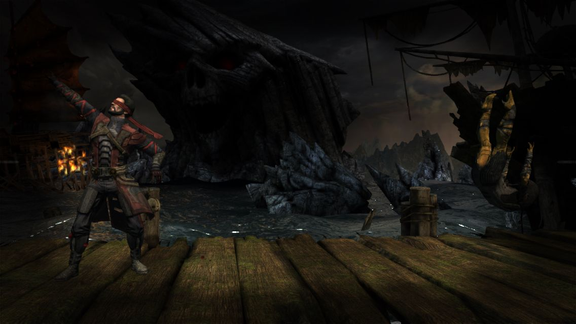 Possesed Kenshi uses Fatality attack to defeat D'Vorah.