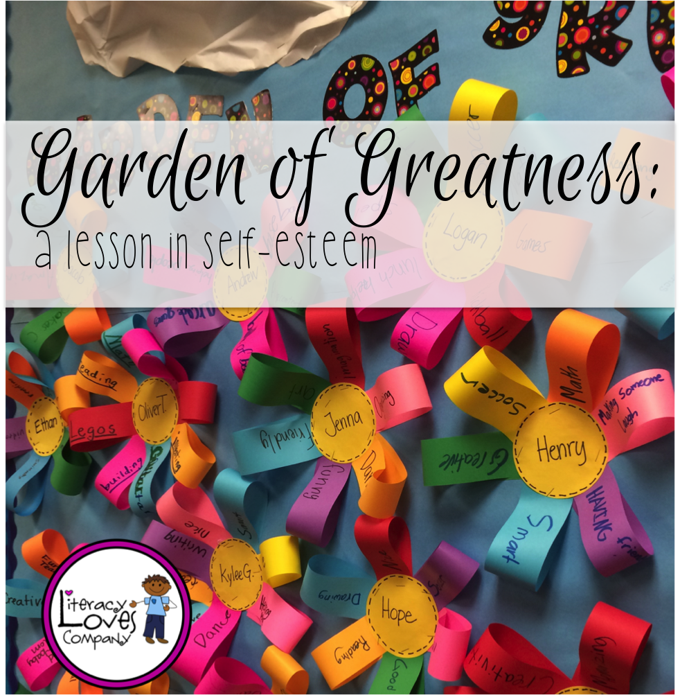 Garden Of Greatness A Lesson On Self Esteem Self Esteem Activities Self Esteem Crafts Self Esteem [ 1003 x 982 Pixel ]