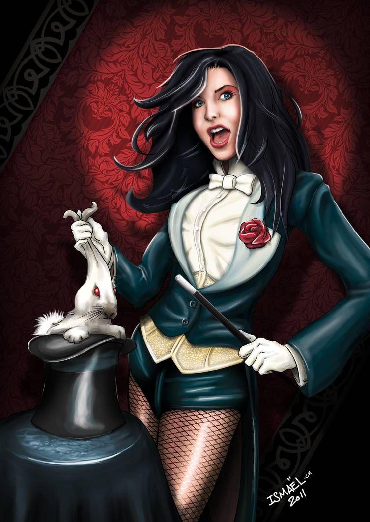 Zatanna - Mistress of Magic - Full Color by Ayeri on