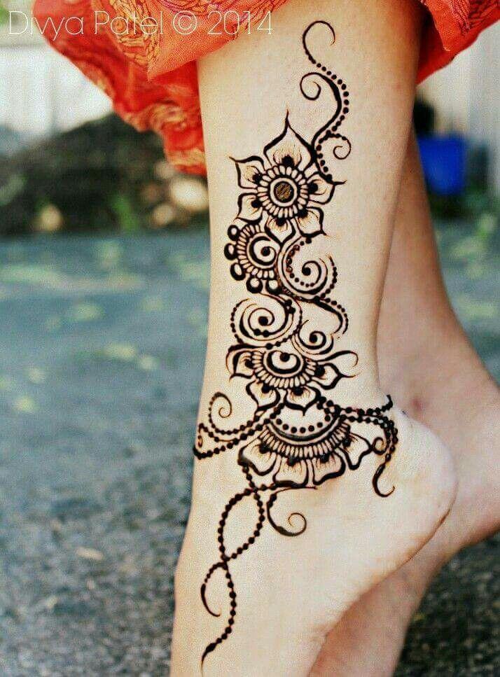 Pin By M Kenny On Henna Pinterest Henna Tattoo Ideen And Henna