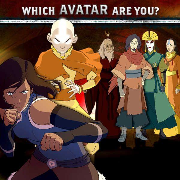 Avatar The Last Airbender Hookup Quiz