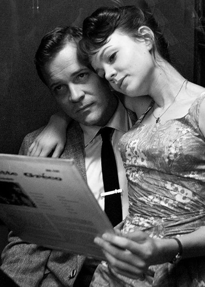 An Education: Didn't love this movie, but I like this picture of Carey Mulligan and Sarsgaard