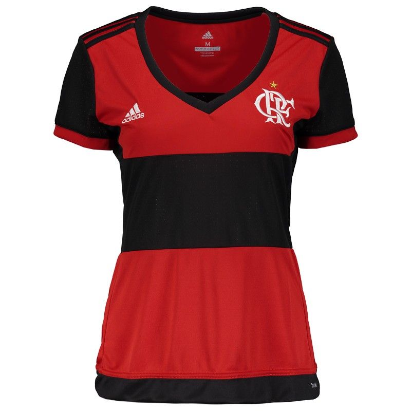 Camisa Adidas Flamengo I 2017 Feminina Somente na FutFanatics você compra  agora Camisa Adidas Flamengo I 2017 Feminina por apenas R  229.90. Flamengo. d7b0c2b058bdc