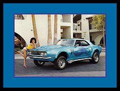 """Blue On Blue"" Show Car, 1981 (Cosmo's ""ART"" Gallery) Tags: blue babe 1981 customcar showcar"