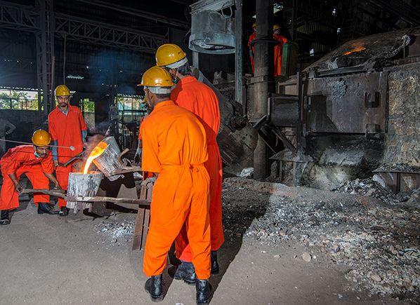 Iron mine photography for Kashi Vishwanath Steel Limited