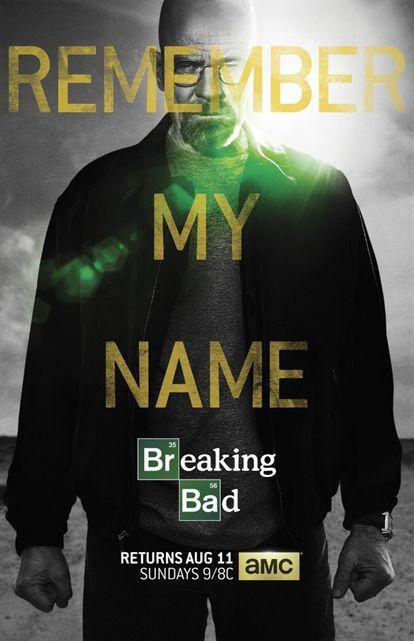 """partir du 11 Août, AMC diffusera les huit derniers épisodes de """"Breaking Bad"""", attendus comme le messie par de nombreux fans à travers le monde. La chaîne vient de dévoiler l'affiche promotionnelle finale, qui fait monter la pression encore d'un cran..."""
