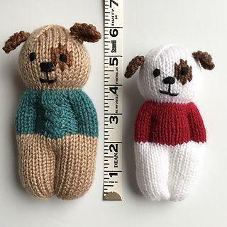 Photo of Furry Friends Puppy Dolls pattern by Esther Braithwaite