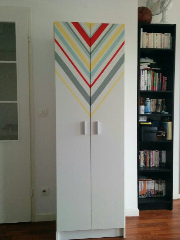 diy customiser une armoire blanche http www. Black Bedroom Furniture Sets. Home Design Ideas