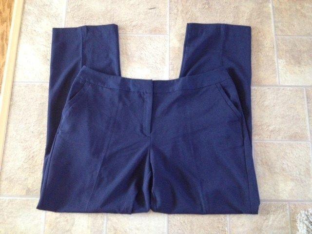 Womens Size 22 WT Ashley Stewart Dress Casual Pants With Rear Seam Legs