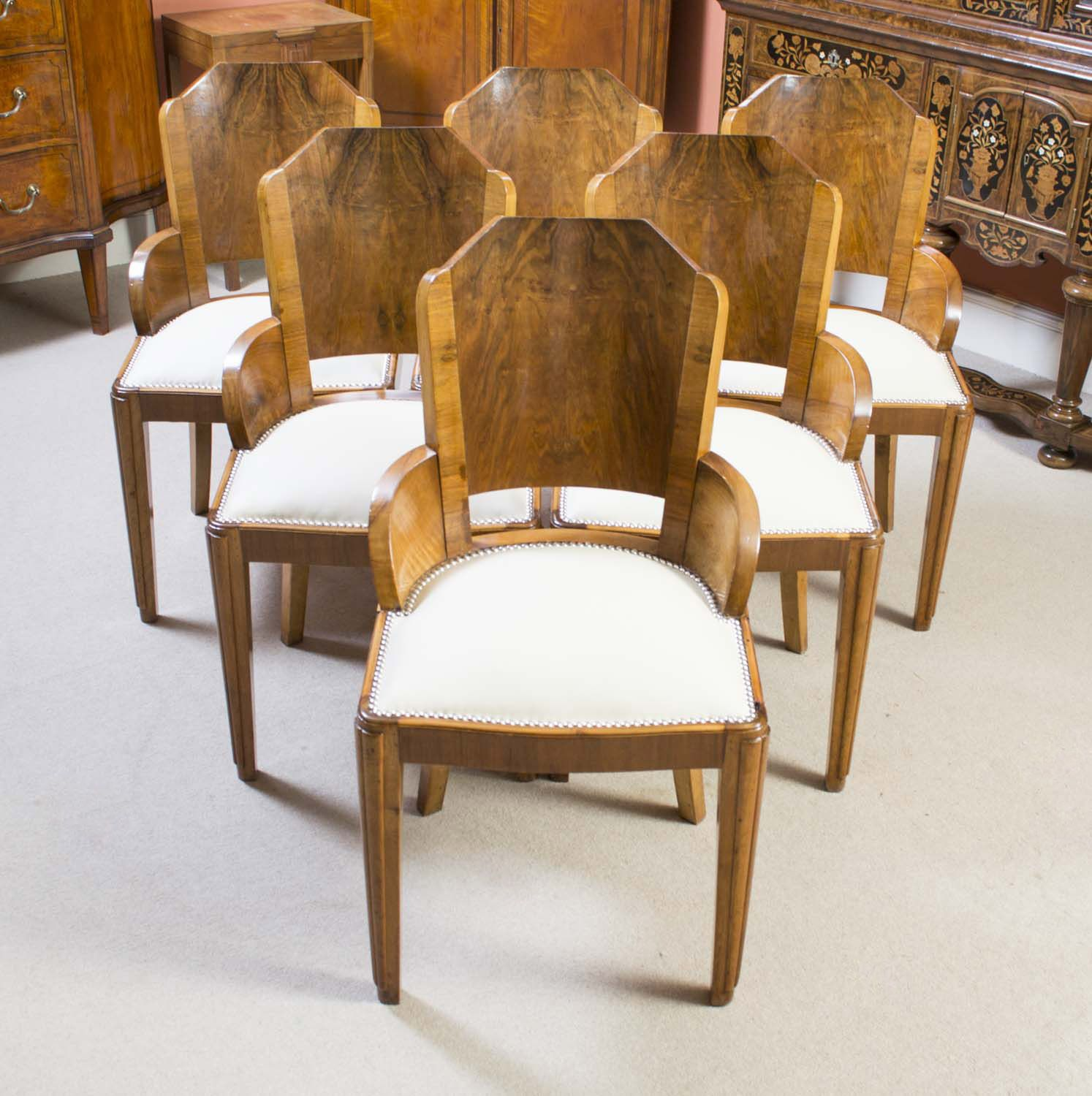 Enjoyable Art Deco Style Dining Chairs Google Search Ship Machost Co Dining Chair Design Ideas Machostcouk