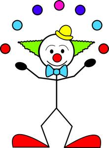 Clown Cartoon Clipart Image Stick Figure Clown Juggling Clipart Best Clipart Best Cartoon Clip Art Stick Figures Clip Art