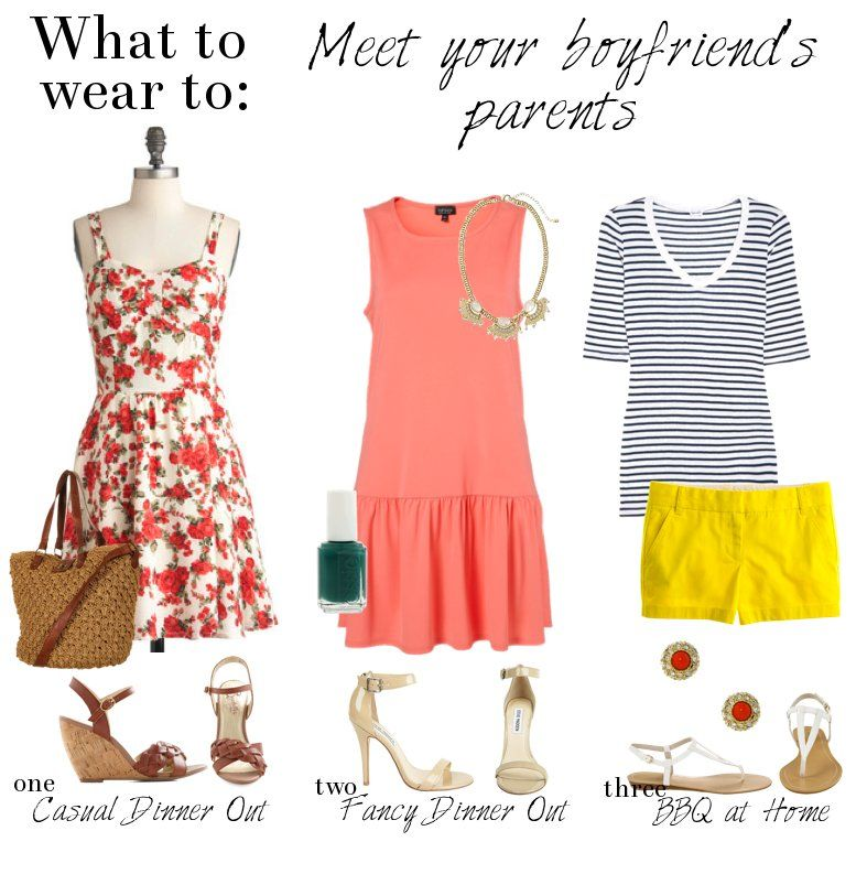 what to wear on first meeting date