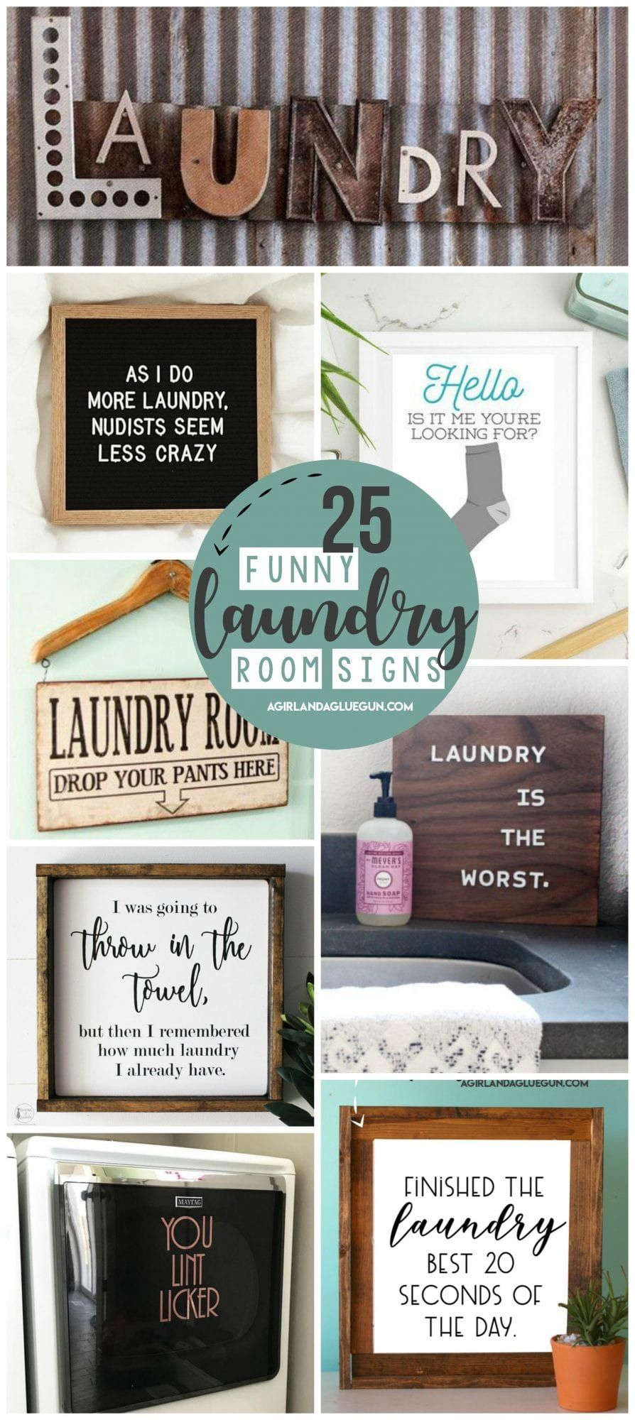 Laundry Room Signs images