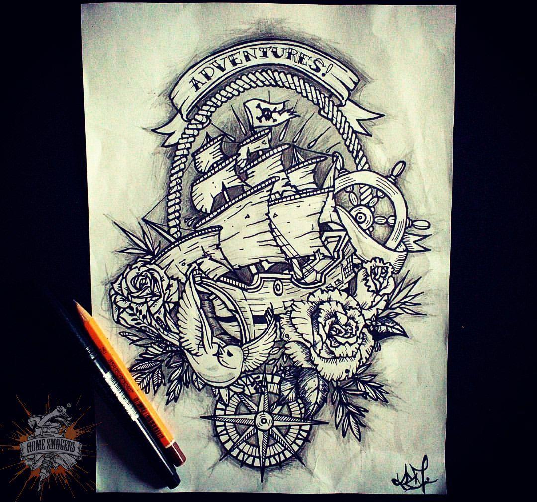 Photo tattoo Daniel Smoker - Adventures -  Photo tattoo Daniel Smoker – Adventures  - #Adventures #childnametattoos #Daniel #geometrictattoo #Photo #shiptattoos #Smoker #Tattoo