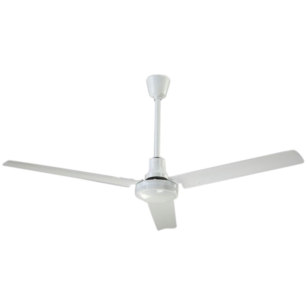 Industrial 56 In White High Performance Indoor Outdoor Ceiling Fan Cp56hpwp The Home Depot Ceiling Fan Outdoor Ceiling Fans Ceiling Fan Installation High cfm outdoor ceiling fan