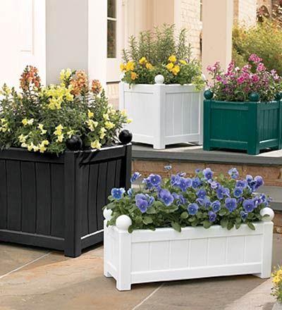Como elegir macetas para el balc n plantas en macetas - Macetas para balcon ...