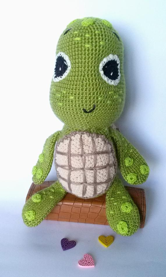 Items similar to Amigurumi turtle, Handmade turtle doll, Stuffed turtle, Hand knit turtle  Kids toy Birthday  Gift for kids  Holiday  Gift for Turtle lovers on Etsy