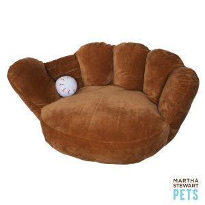 Martha Stewart Pets Baseball Glove Dog Bed Beds Petsmart Cute Dog Beds Dog Bed Martha Stewart Pets
