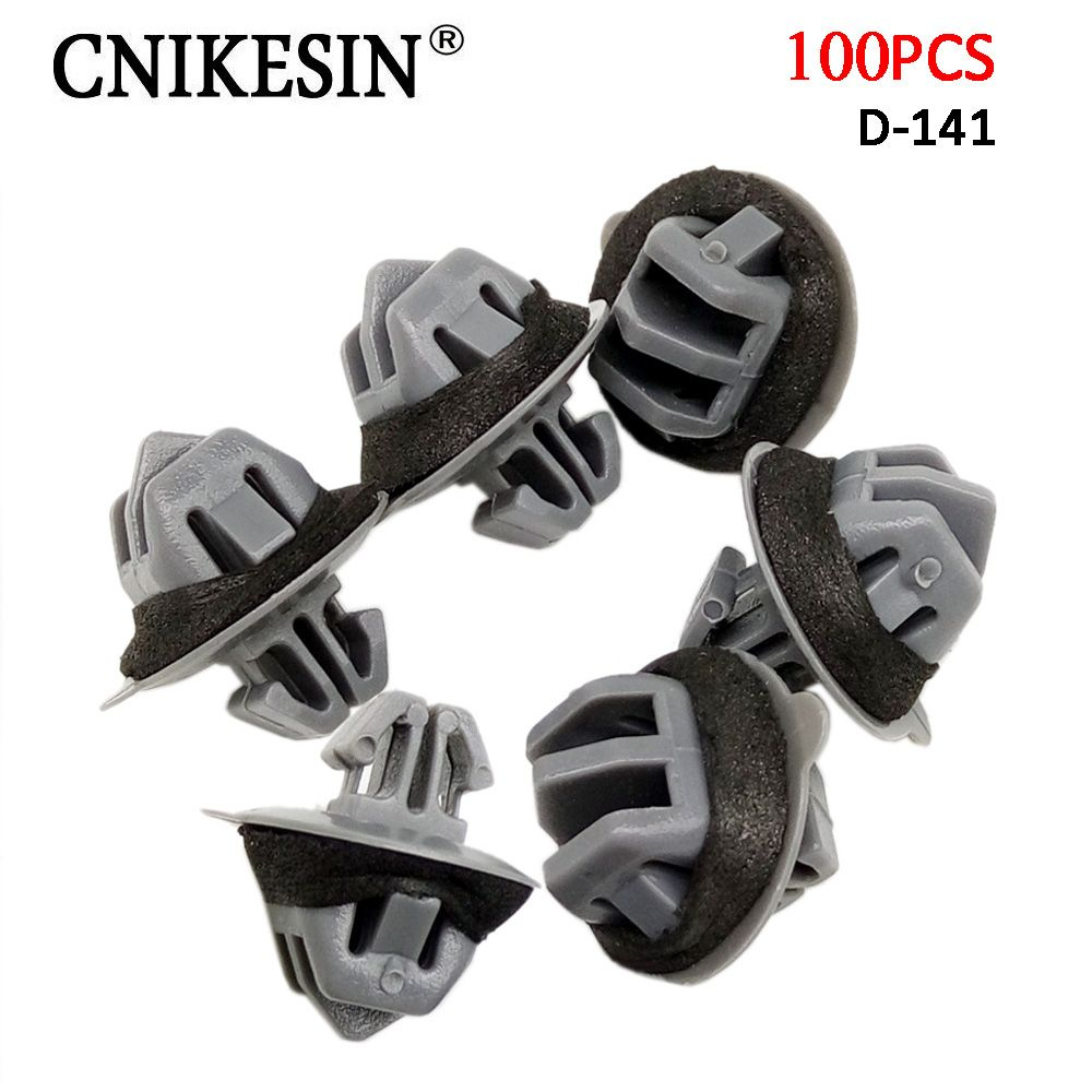CNIKESIN 100PCS14.5mm Automobile Fender Lining Fasteners for ...