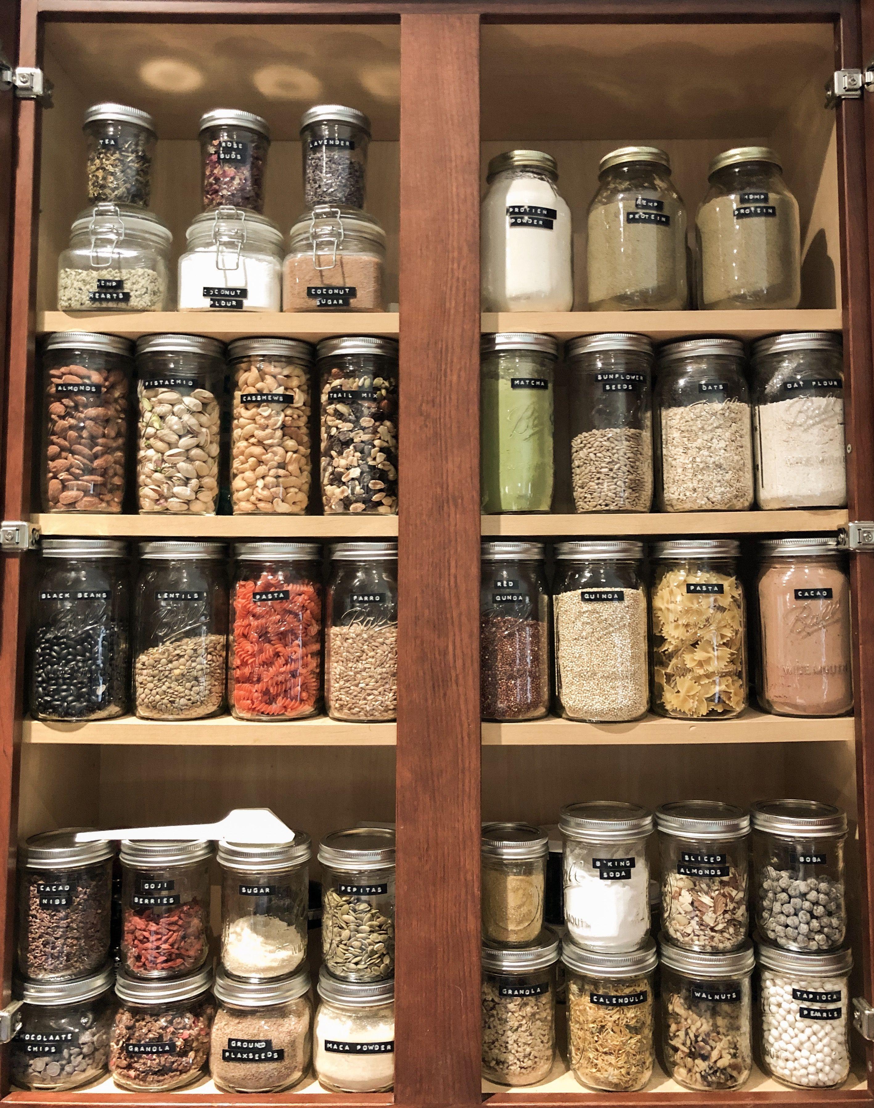 zero waste pantry veganmaani on ig zero waste zero waste living waste on kitchen organization zero waste id=13779