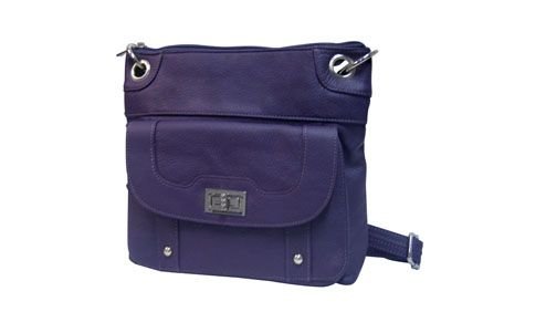 Carry All Leather Pistol Purse.  Adjustable shoulder strap long enough for cross body carry.  Choice of colors.