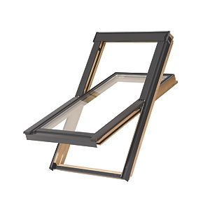 Order online at Screwfix.com. Timber and glass. Varnished ...