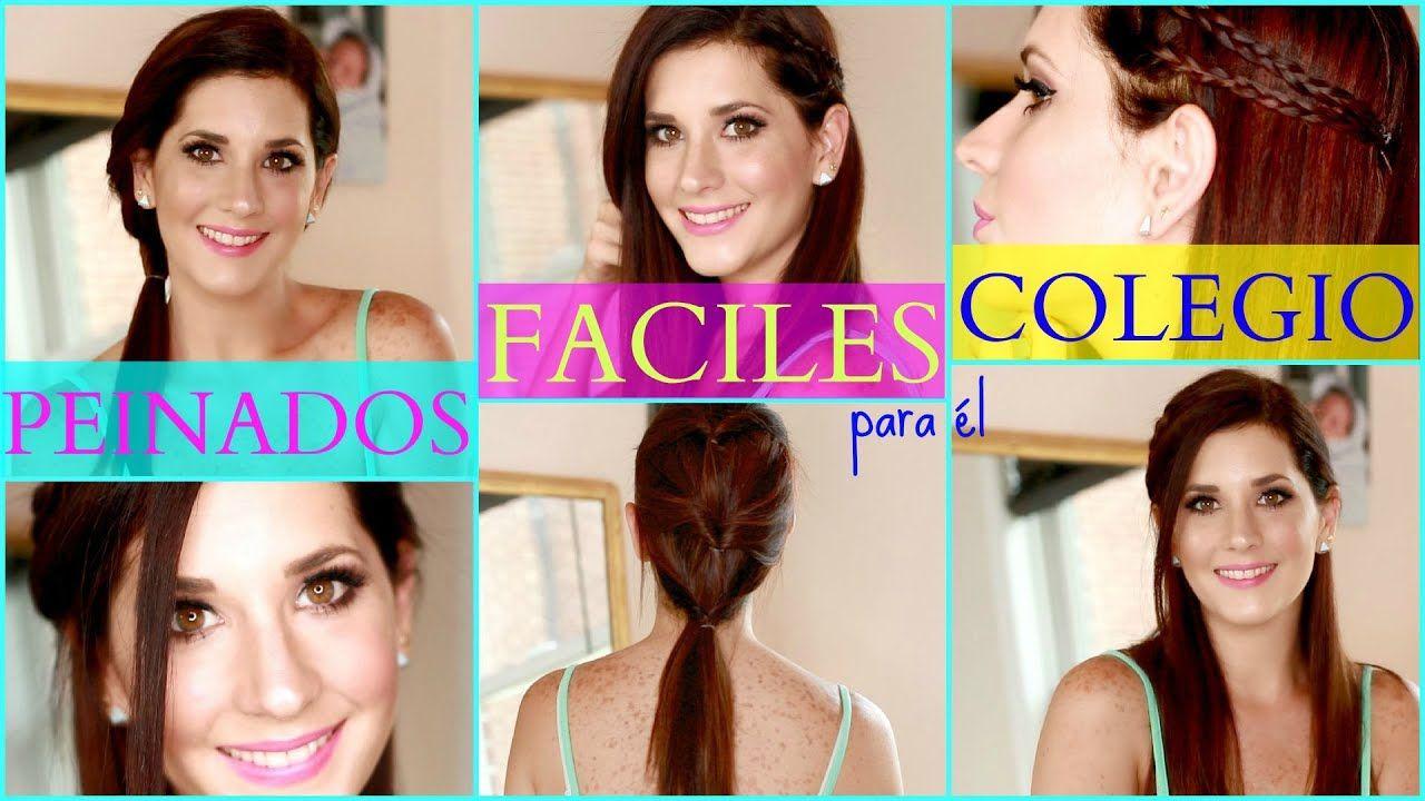 Impresionante peinados para el colegio Colección de ideas de color de pelo - Peinados Faciles Y Rapidos Para el Colegio   Peinados ...