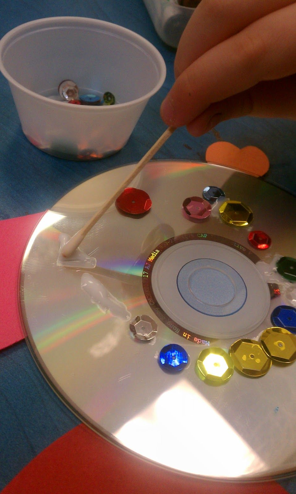 Getting Messy With Ms. Jessi: recycled art