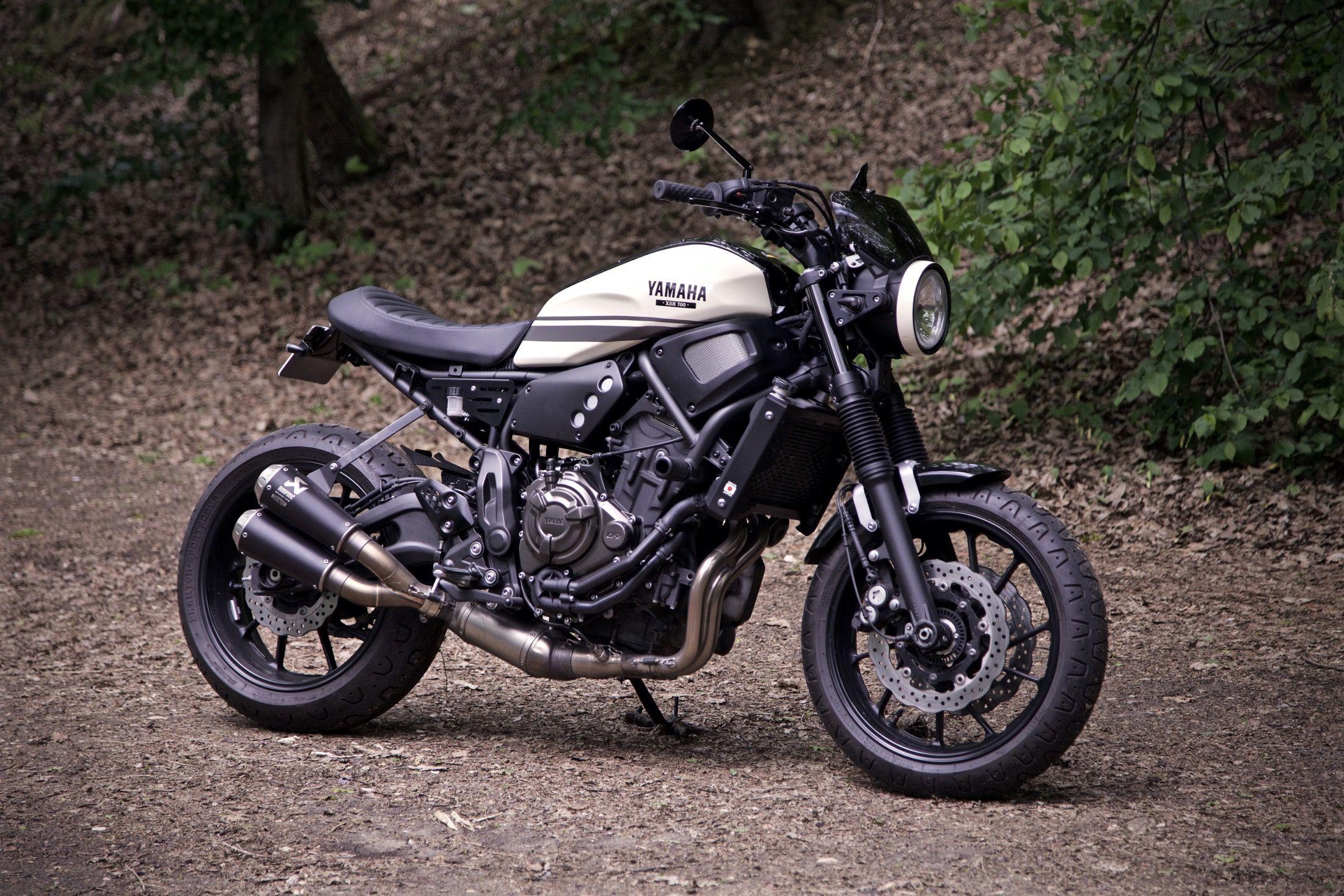 Xsr 700 Yamaha Paris France Custom