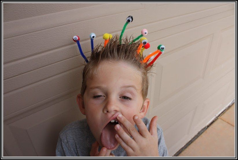 Crazy Hair Day Ideas For Boys With Short Hair Fun For Kids