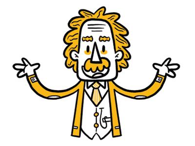 Albert Einstein Albert Einstein Einstein Kids Doodles