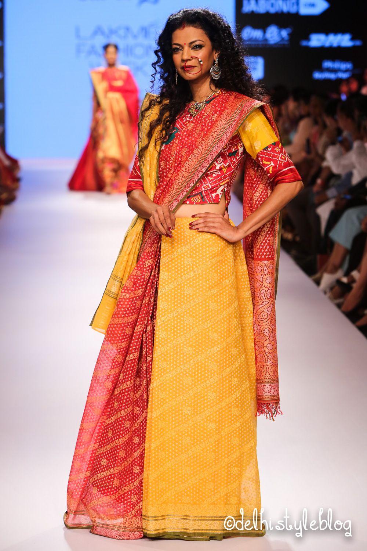 Gaurang Shringar Of Samyukta Fashion Indian Fashion Lakme Fashion Week
