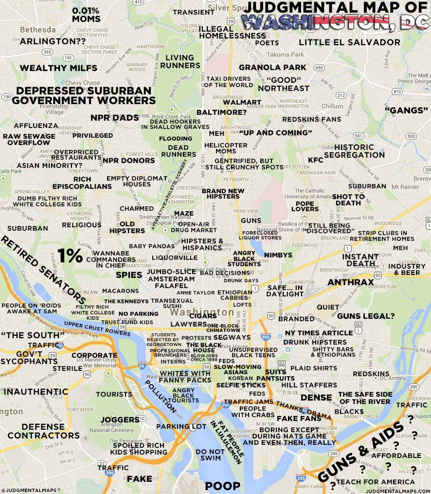 Houston judgmental map
