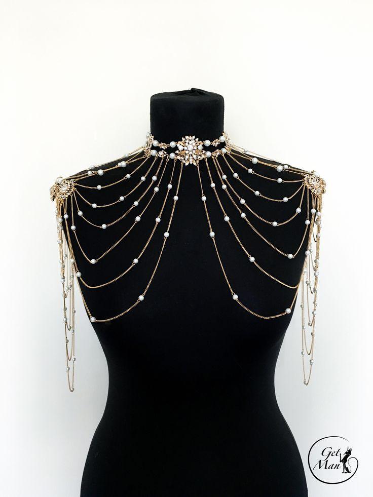 Photo of Hochzeit Schulter Halskette Frossy, Bridal Schulter Halskette – #Bridal #Frossy #Ne …