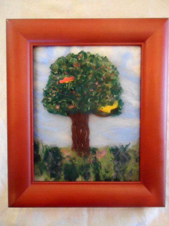 The Tree of Life (needle felt painting)
