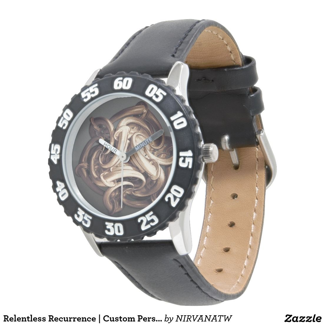 Relentless Recurrence | Custom Personalized Watch