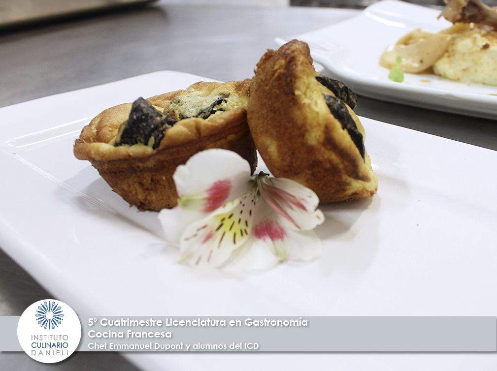 5º Cuatrimestre, Cocina Francesa por el chef Emmanuel Dupont y alumnos del ICD