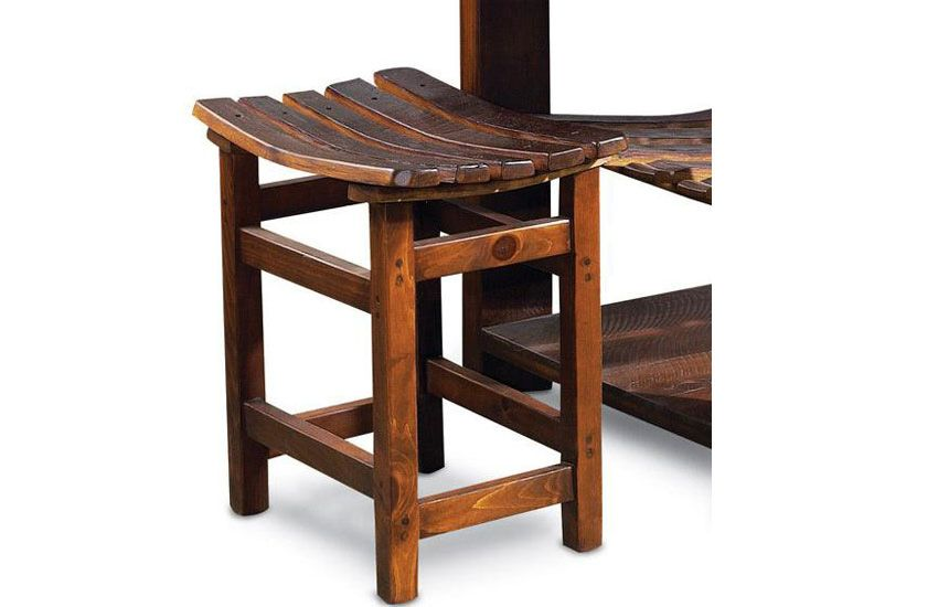 Product Details And Features Tasting Stool Dimensions 24in L X 16in W X 25in H Weight 25 Lbs Well Built And Durable Using Up Cycled Materials For