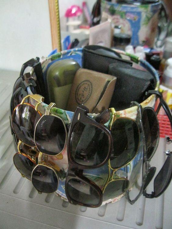 58b0d283bc Como Organizar Óculos de Sol | American Organizer | Storage ...