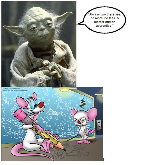 Never new how right Yoda was!