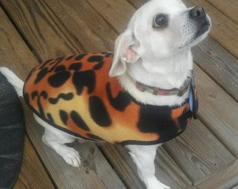 Fashion Printed Leopard Dog Dress XS S M. by SophiesPetCloset