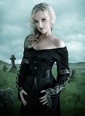 Liv Kristine Vocalist Of Theater Of Tragedy 1993 2003 Heavy Metal Music Gothic Metal Band Metal Girl